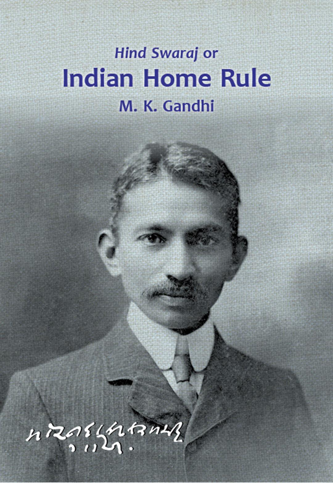 essay on indian home rule by gandhi